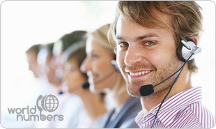 World Numbers telecommunications expert happy to offer assistance 24/7
